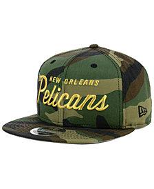 New Era New Orleans Pelicans Classic Script 9FIFTY Snapback Cap