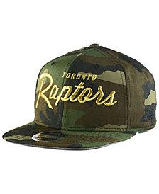 New Era Toronto Raptors Classic Script 9FIFTY Snapback Cap
