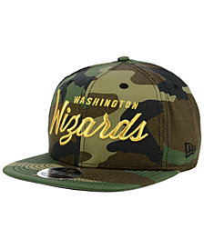 New Era Washington Wizards Classic Script 9FIFTY Snapback Cap