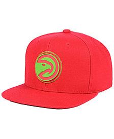 Mitchell & Ness Atlanta Hawks Zig Zag Snapback Cap
