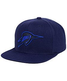 Mitchell & Ness Oklahoma City Thunder Zig Zag Snapback Cap