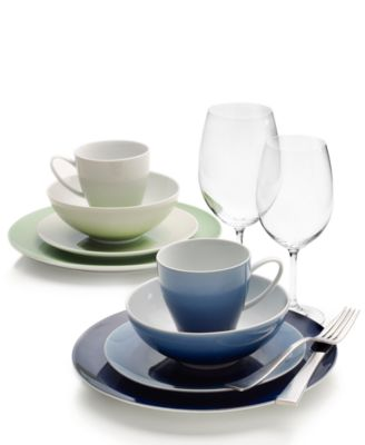 Naya Gray 16-Pc. Dinnerware Set, Service for 4