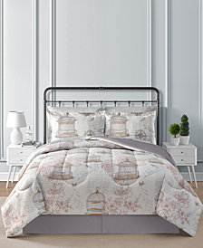CLOSEOUT! Fairfield Square Collection Birdcage Reversible 8-Pc. Comforter Sets