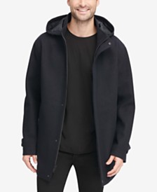 DKNY Men's Allman Wool Coat, Created for Macy's