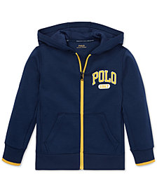 Polo Ralph Lauren Toddler Boys Double-Knit Graphic Hoodie