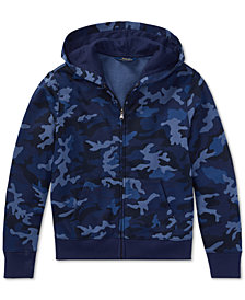 Polo Ralph Lauren Big Boys Camouflage French Terry Hoodie