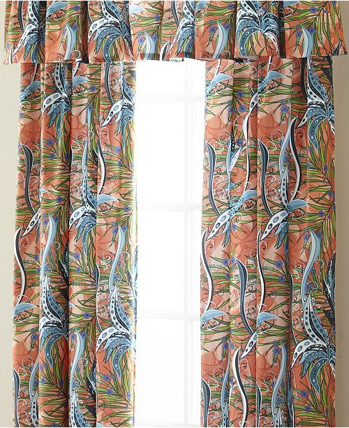 Colcha Linens Tropical Bloom Drapery Panel - Each