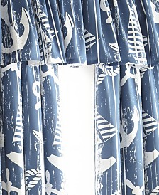 Nautical Board Tailored Valance