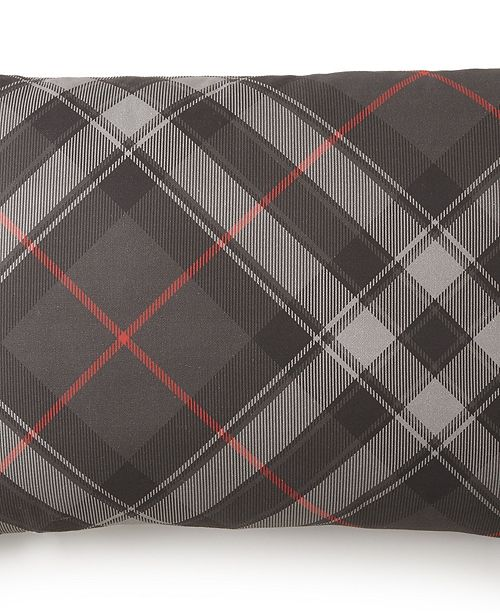 Colcha Linens Poppy Plaid Long Rectangle Pillow - Plaid