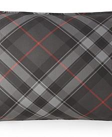 Max Plaid Pillow Sham-Standard/Queen