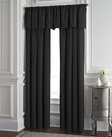 Cambric Black Tailored Valance