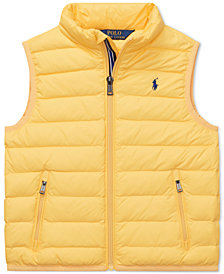 Polo Ralph Lauren Little Boys Quilted Down Vest