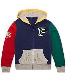 Polo Ralph Lauren Big Boys Colorblocked Cotton French Terry Hoodie