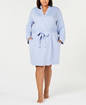 Charter Club Plus Size French Terry Robe 3f6f5acba