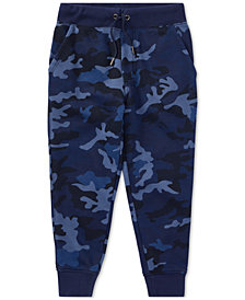 Polo Ralph Lauren Little Boys Camouflage French Terry Jogger Pants