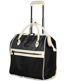 BCBG MAXAZARIA Luxe Wheeled Under-Seat Carry-On Suitcase
