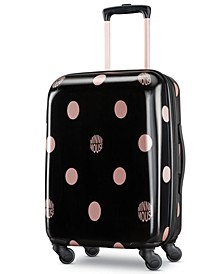 "Minnie Mouse Dots 21"" Carry-On Spinner Suitcase"