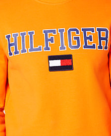 Tommy Hilfiger Men's Collegiate Logo Sweatshirt, Created for Macy's