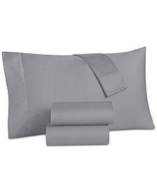 CLOSEOUT!  Grace Home Cotton Reversible 500 Thread Count 4-Pc. Queen Sheet Set