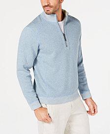 Tommy Bahama Men's Reversible Flipsider Half-Zip Sweatshirt