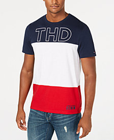 Tommy Hilfiger Denim Men's Granby Colorblocked Logo Graphic T-Shirt, Created for Macy's