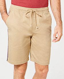 American Rag Men's Side Stripe Pull-on Shorts, Created for Macy's