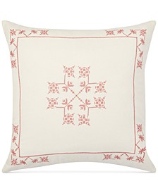 """Marley Embroidered 20"""" x 20"""" Decorative Pillow"""
