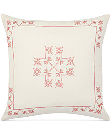 "Lauren Ralph Lauren Marley Embroidered 20"" x 20"" Decorative Pillow"