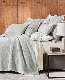 Hotel Collection Seaglass Cotton Full/Queen Coverlet, Created for Macy's