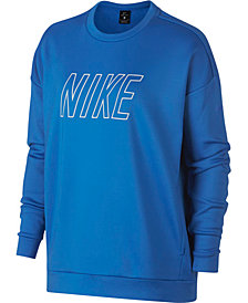Nike Therma Fleece Logo Training Sweatshirt
