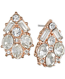Jewel Badgley Mischka Crystal Cluster Stud Earrings