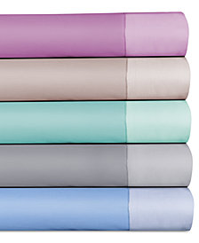 CLOSEOUT! Grace Home Cotton Reversible 500 Thread Count 4-Pc. Sheet Sets