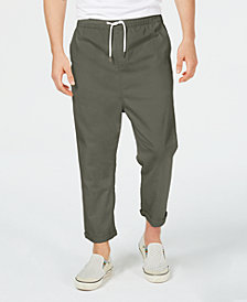 A.I. Men's Loose-Fit Cropped Pull-on Pants