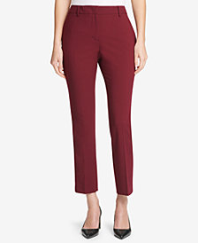 DKNY Fixed-Waist Skinny Ankle Pants, Created for Macy's