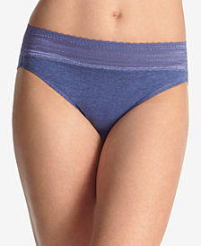 Warner's No Pinching No Problems Cotton Hi Cut Brief RT2091P