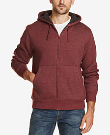Weatherproof Vintage Men's Sherpa Lined Fleece Hoodie