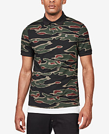 G-Star RAW Men's Agbay Camo-Print Polo