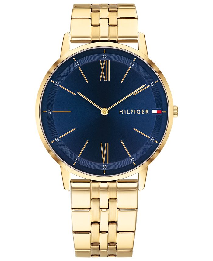 Tommy Hilfiger - Men's Gold-Tone Bracelet Watch 40mm