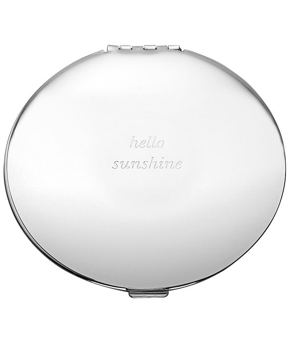 kate spade new york Silver Street Compact Mirror