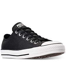 Converse Unisex Chuck Taylor Ox Leather Casual Sneakers from Finish Line