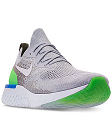 Nike Men's Epic React Flyknit Running Sneakers from Finish Line