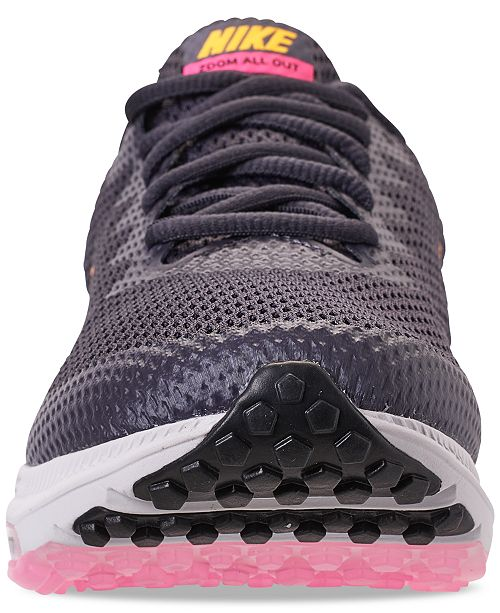 Nike Women s Zoom All Out Low 2 Running Sneakers from Finish Line ... 5817c5eaaa