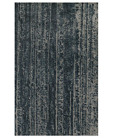"Macy's Fine Rug Gallery Mosaic Rails Pewter 5'3"" x 7'7"" Area Rug"