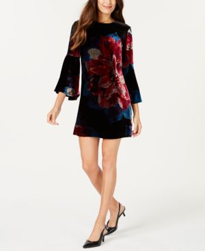 Trina Turk Velvet Shift Dress 6804254