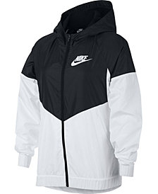 Nike Big Girls Sportswear Windrunner Hooded Jacket