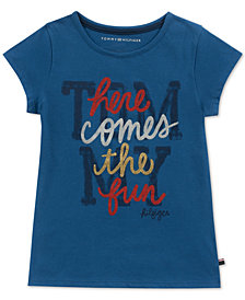 Tommy Hilfiger Big Girls Cotton T-Shirt