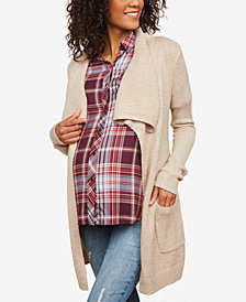 Motherhood Maternity Belted Cardigan