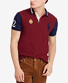 Polo Ralph Lauren Men's Custom Slim Fit Mesh Polo Shirt