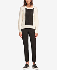 DKNY Studded Sweater, Created for Macy's