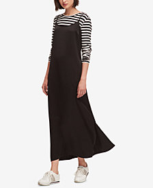 DKNY Striped Top & Maxi Dress, Created for Macy's